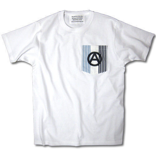 ANARCHY ON THE POCKET TEE