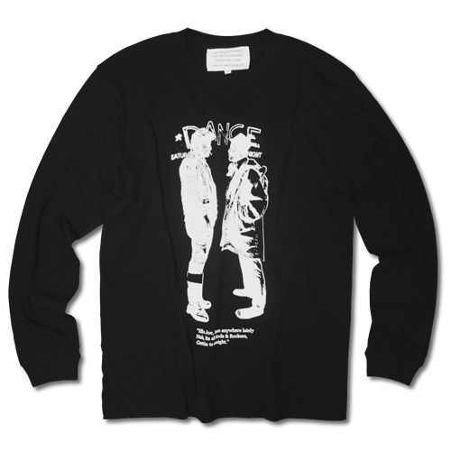 MODSvsROCKERS LONG SLEEVE TEE【BLACK】