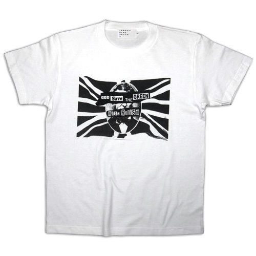 【SALE】50%OFF! GOD SAVE THE GREEN TEE