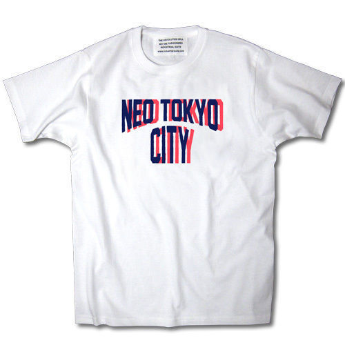 NEO TOKYO CITY TEE【WHITE】