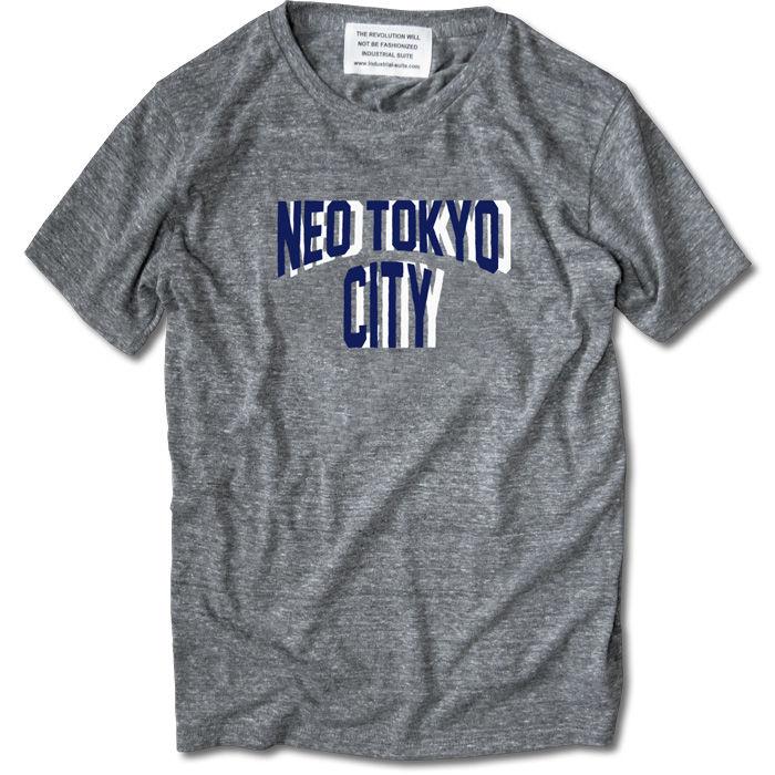 NEO TOKYO CITY TEE【AUTHENTIC GRAY】