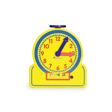Primary Time Teacher Junior 12-Hour Learning Clock デジタル&アナログ学習時計