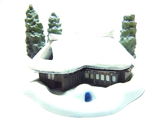 みちのく物産展  01.雪景色(秋田県)
