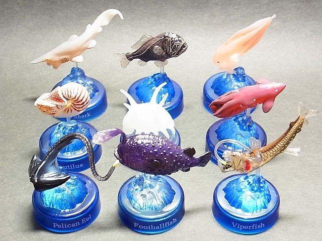 ダイドーMIU深海生物フィギュアコレクション (全9種)コンプリートセット