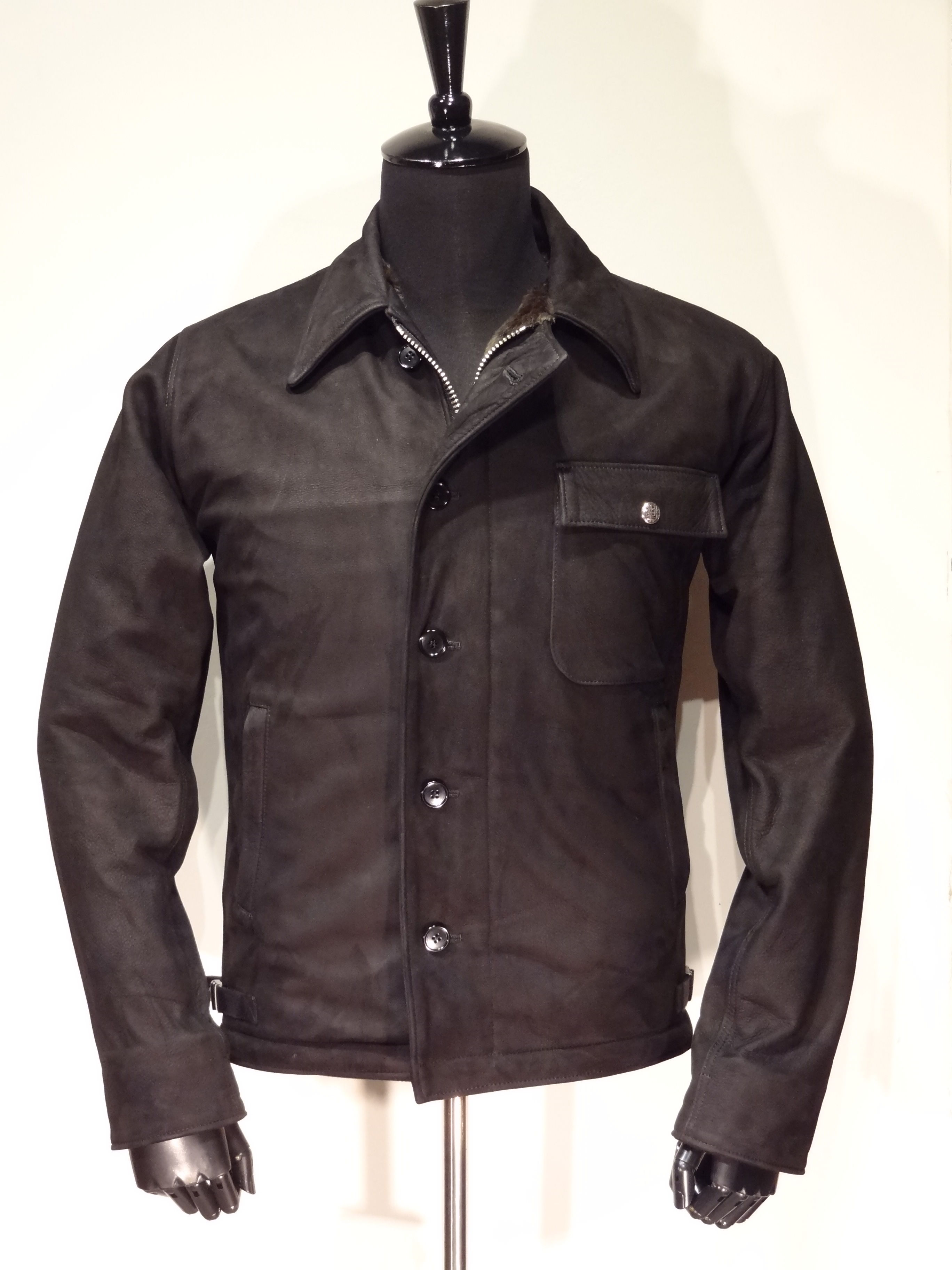 Deck Leather Jacket Cow