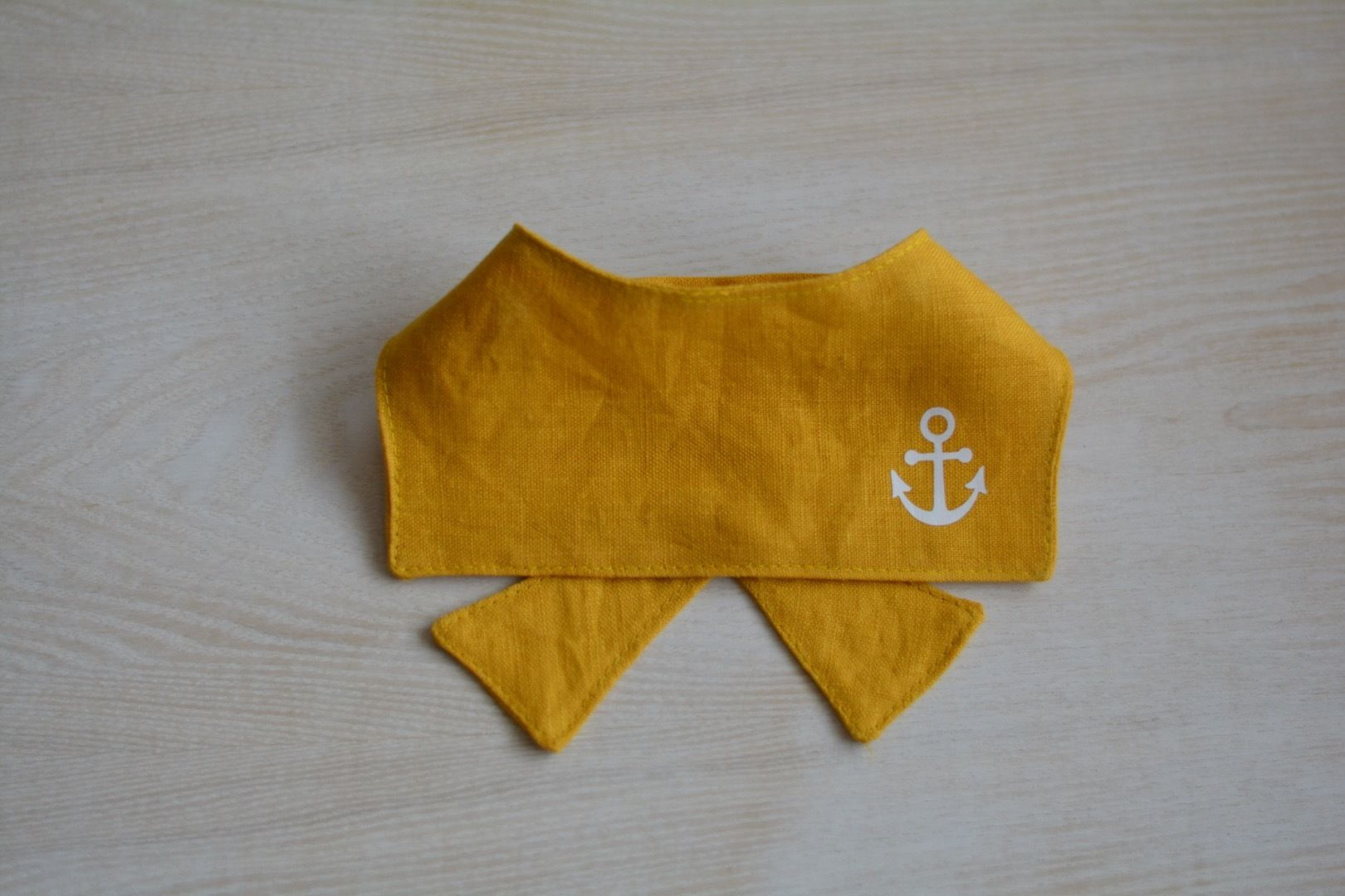 リネンマリン襟SS-M(クールポケット付き)
