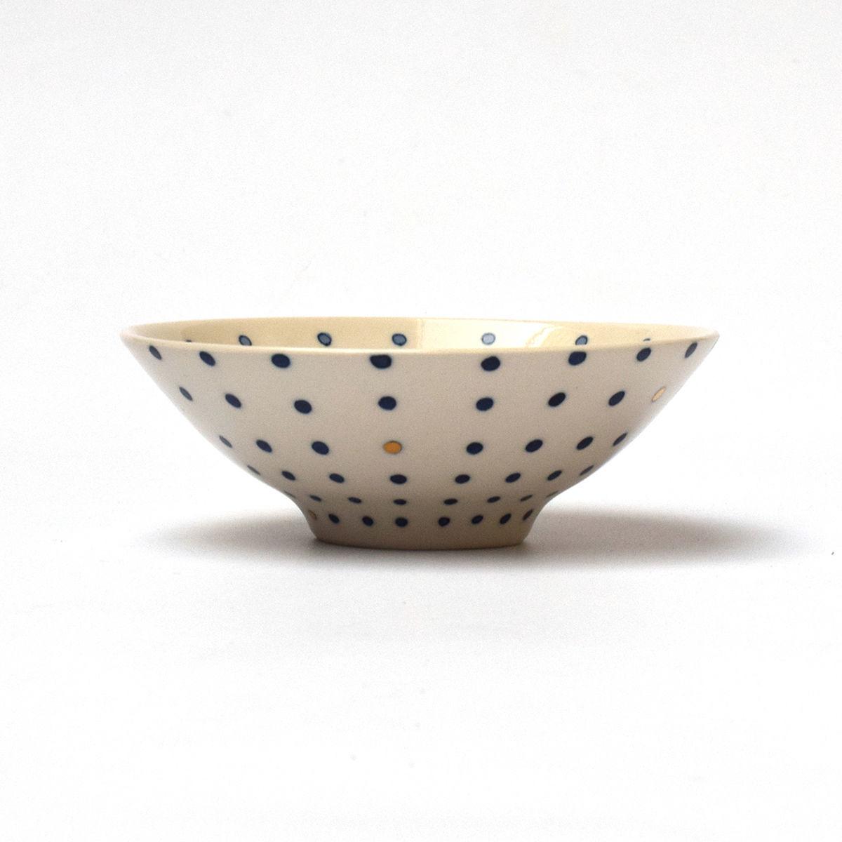 平茶碗 豆絞り / 中川ひかり