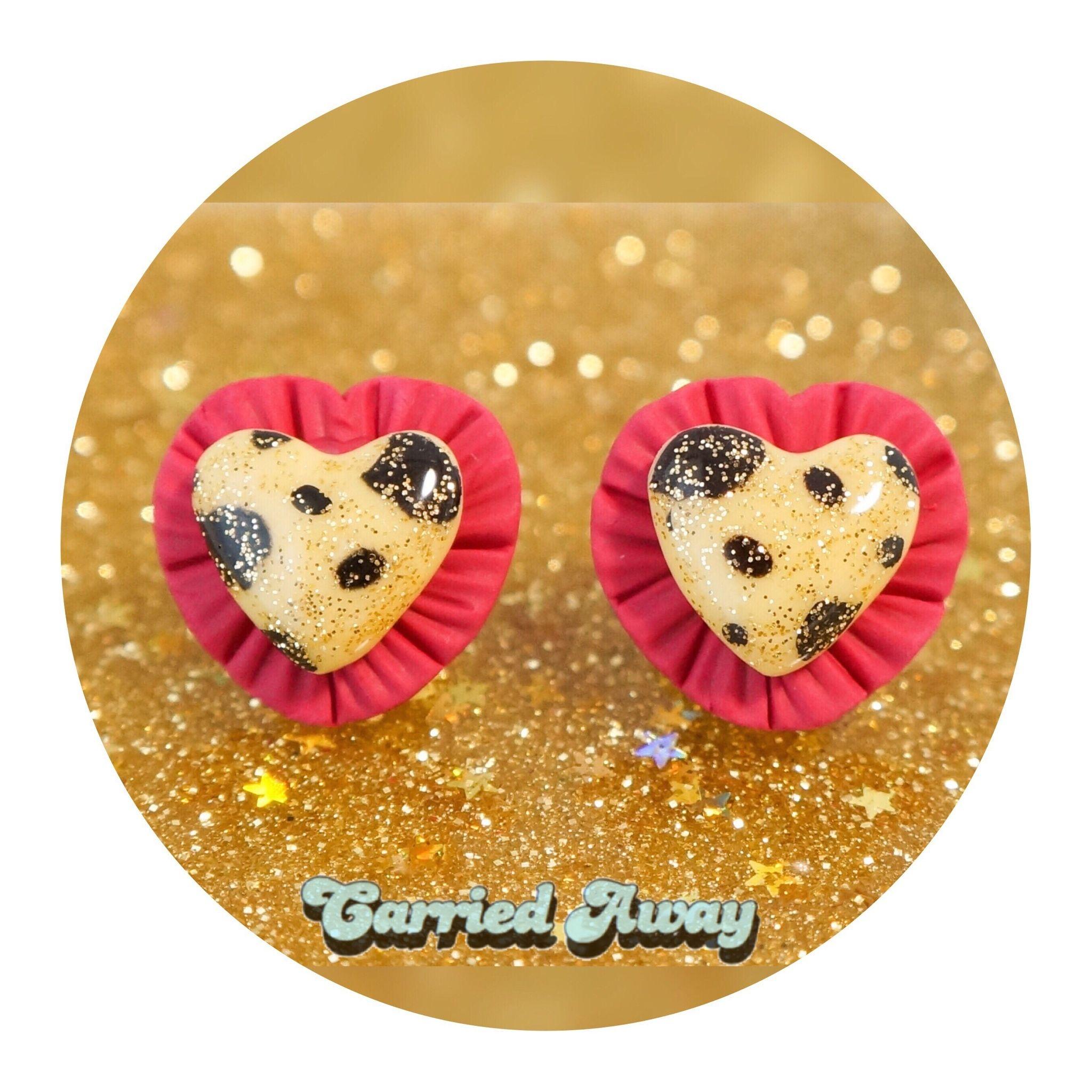 Little Wildpierced earrings/Rose