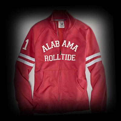 アメリカンイーグル メンズ American Eagle Alabama Vintage Fleece Track Jacket トラックジャケット