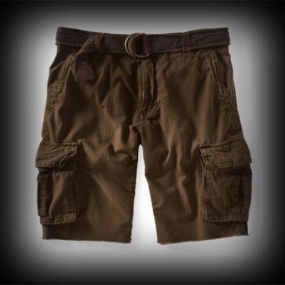 エアロポステール メンズ Belted Ripstop Cargo Shorts カーゴパンツ