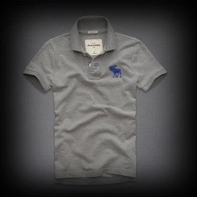 アバクロ メンズ abercrombie pop-color logo polo ポロシャツ