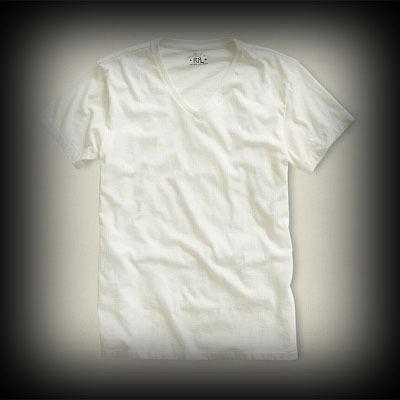 ダブルアールエル メンズ RRL Short-Sleeved V-neck Tee Tシャツ