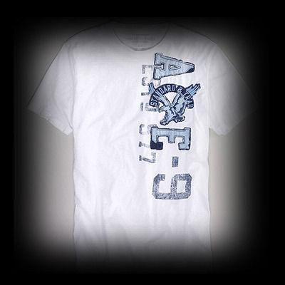 アメリカンイーグル メンズ American Eagle AE Applique Graphic Tシャツ