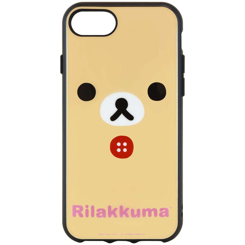 グルマンディーズ リラックマ IIIIfi+(R)(イーフィット) iPhone7/8/6s/6(4.7インチ)対応ケース コリラックマ grc-170b