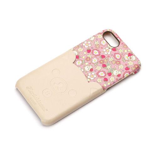 iPhone 7/8用 ポケット付きPUケース コリラックマ/ダイカット YY01607