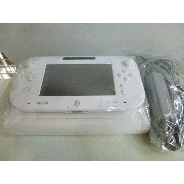 【中古】 Wii U 32GB ホワイト 箱・説・充電スタンド・プレイスタンド欠品 184-148SK