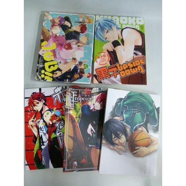【中古】黒子のバスケ アンソロジーコミック 9冊セット ほあたバスケット2 赤司様のためならば Emperor~赤司~ 黒子UPSIDE DOWN JOBくろこのおしごと 173-250SK