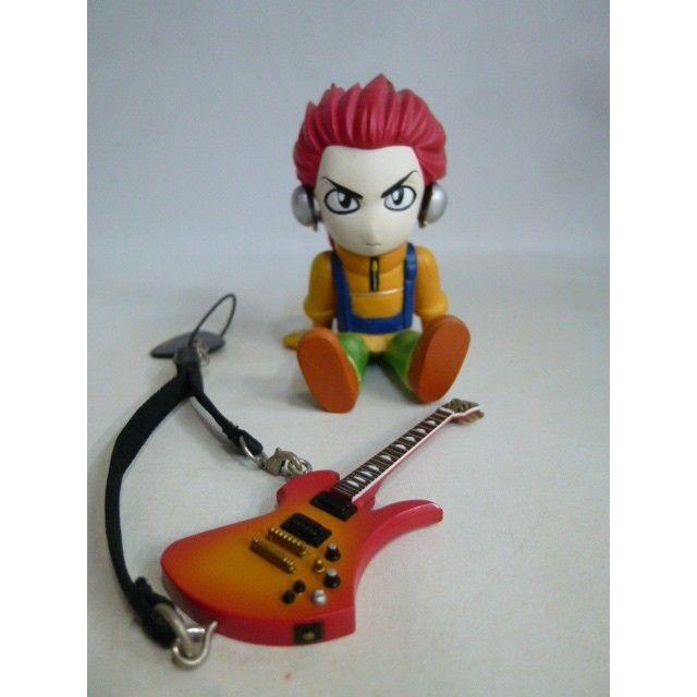 【中古】X-JAPAN hide  携帯ストラップ ギターコレクション&フィギュア コレクション 185-353SK