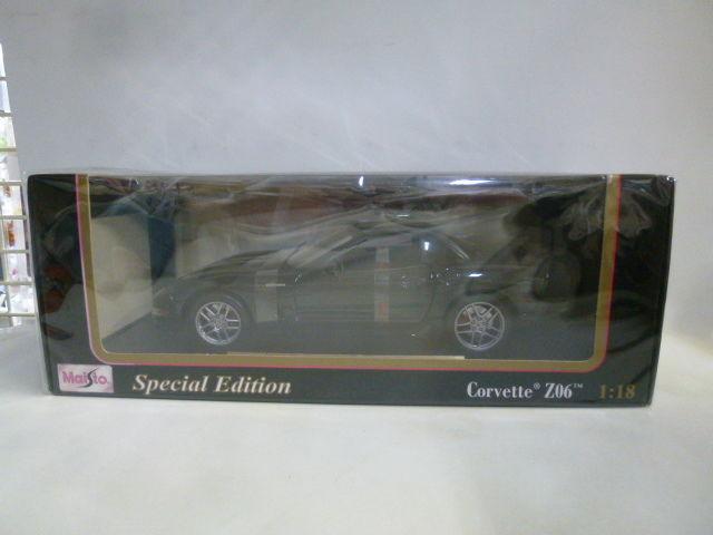 【中古】【開封品】 マイスト 1/18 Corvette Z06 Special Edition   3407SK