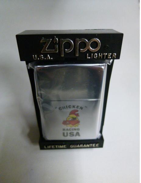 【未使用】CHICKEN RACING USA Zippo ジッポ 179-137sk