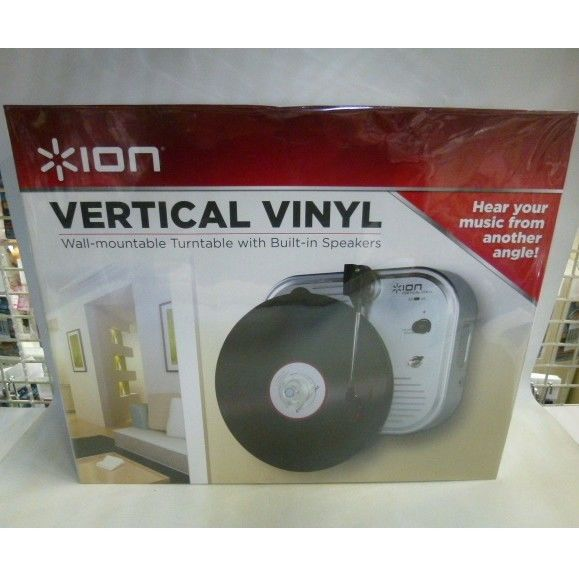 【中古】 ION Vertical Vinyl Turntable ターンテーブル 1711-150SK