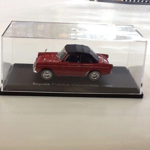 【中古】アシェット 1/43 トヨタパブリカコンバーチブル UP10S (1964 ) ss1710-259