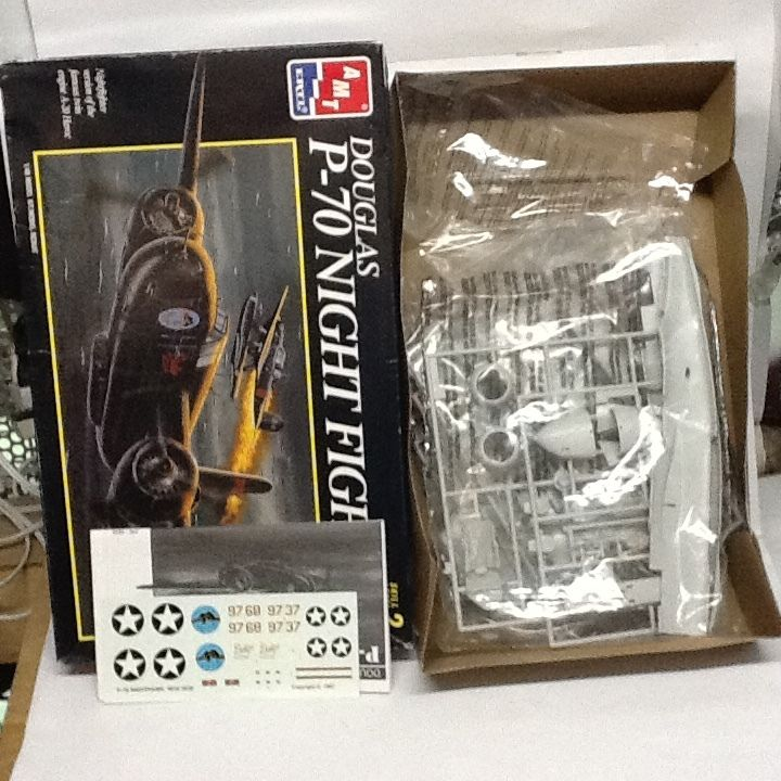 【中古】【未組立】1/48 ERTL DOUGLAS P-70 NIGHT FIGHTR  1710-182ss