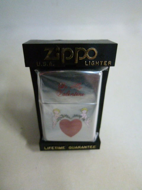 【未使用】 Be My Valentine Zippo ジッポ 天使 エンジェル 1711-147SK