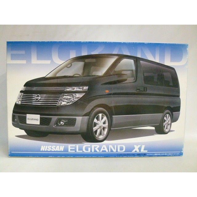 【中古】【未組立】 フジミ模型 1/24 インチアップシリーズID-L NISSAN エルグランドXL 4WD/7人乗り 175-261SK