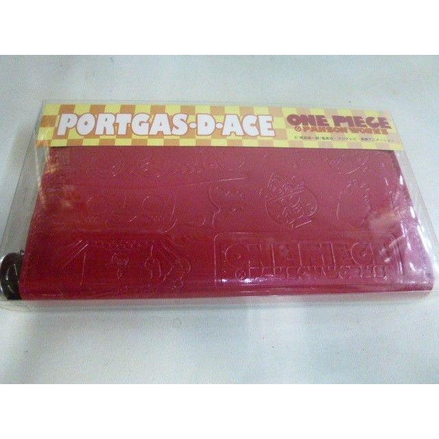 【中古】ワンピース パンソン・ワークス ポートガス・D・エース ONE PIECE PANSON WORKS PORTGAS・D・ACE 長財布 レッド 185-205SK