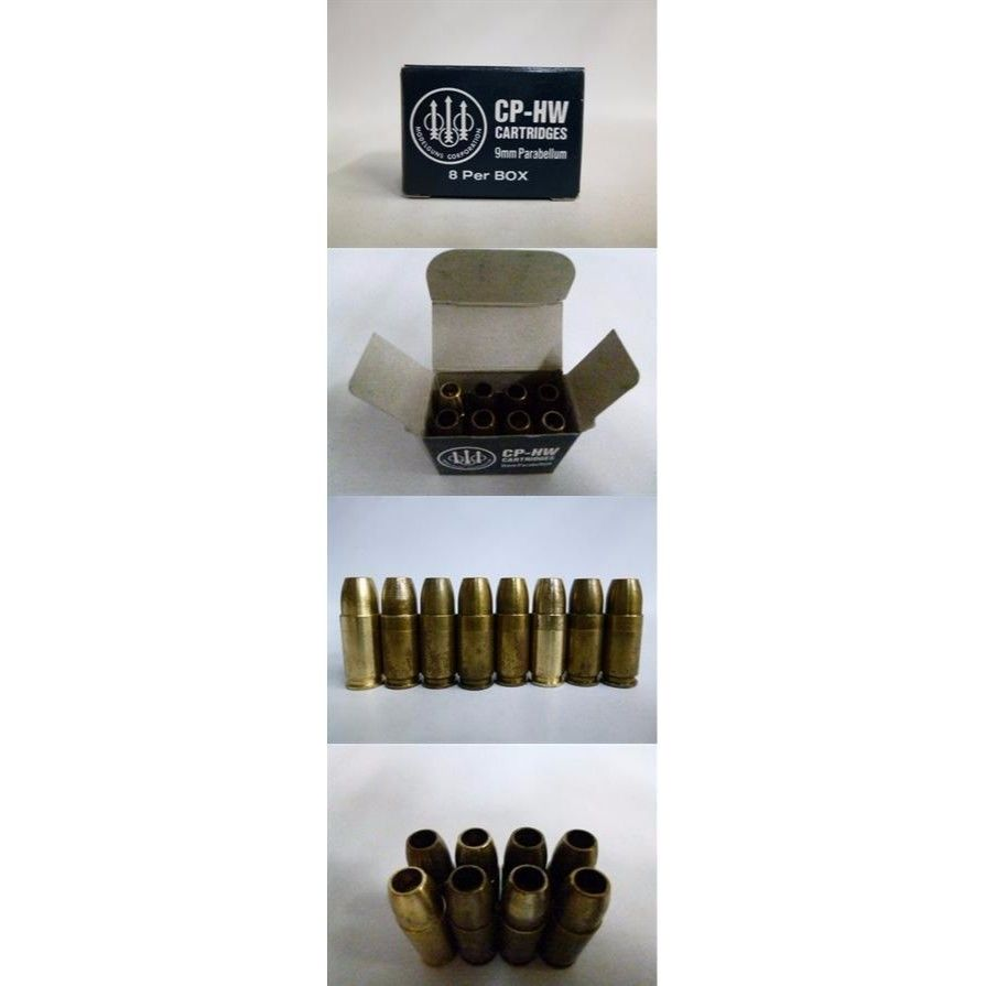【中古】 MGC M9 CP-HW CARTRIDGES BERETTA M92F SERIES 9mm Parabellum モデルガン カートリッジ 8発入り 179-537SK