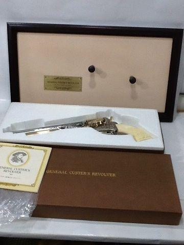 【未使用】 GENERAL CUSTER'S REVOLVER・カスター将軍のレボルバージェネラルカスターズ リボルバー モデルガン 銃 フランクリンミント ss1712-