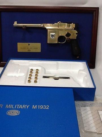 【未使用】MAUSER MILITARY モーゼル ミリタリーM1932 金属モデルガン フランクリンミント ss1712- 106