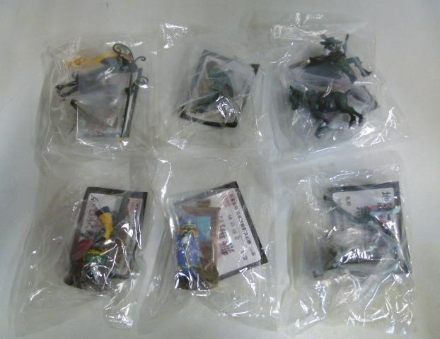 【中古】 銀河鉄道999フィギュアコレクション第1シリーズ全6種セット 171-324SK