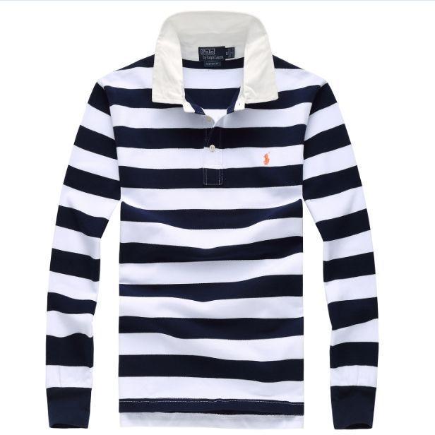 【POLO】高質新品POLOポロ ラルフローレン男性用Tシャツ長袖4色[shop-PL-12]