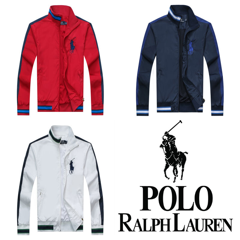 【POLO】高質新品POLO ポロ ラルフローレン Polo Ralph Lauren ジャージ トラックジャケット 3色 [PL-908-2069]