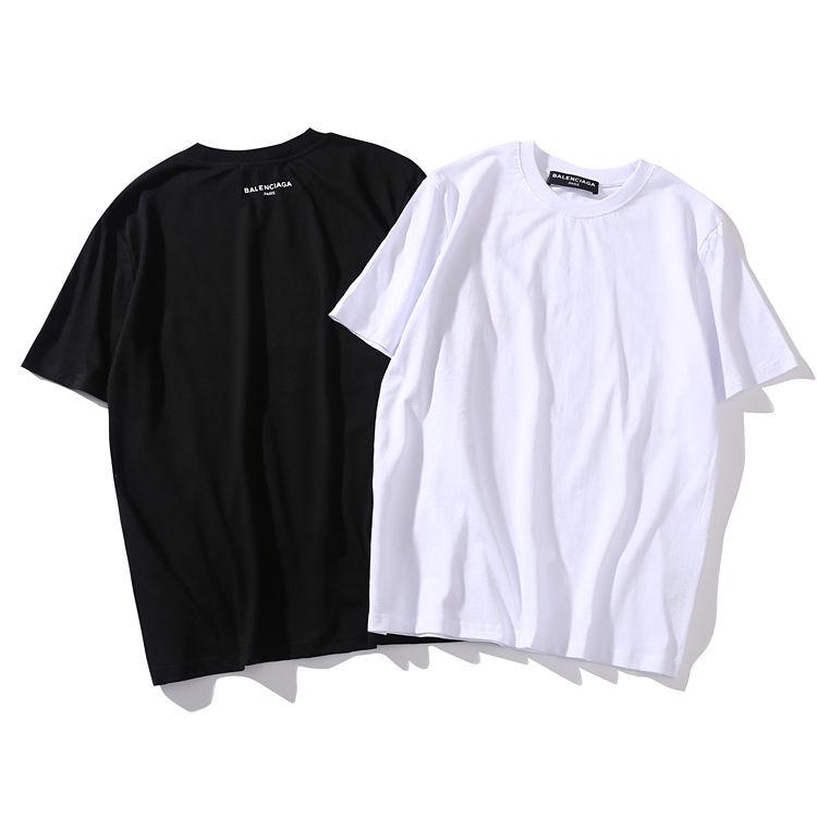送料無料 2017新品 人気 balenciaga バレンシアガ  大人気 セール オシャレ Tシャツ 半袖 人気新品 男女兼可 メンズ レディース