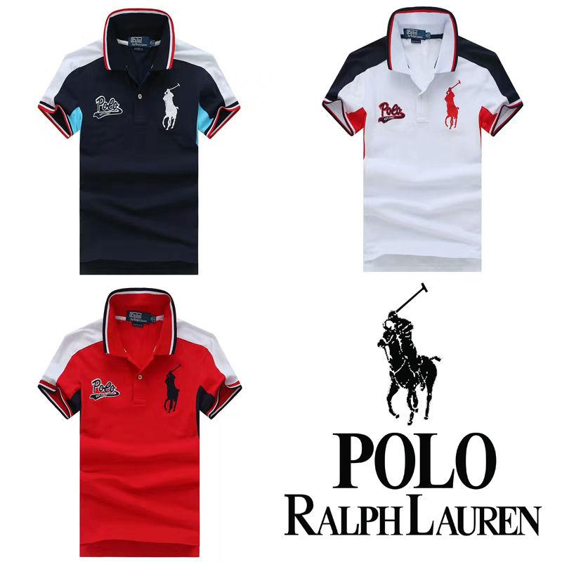 送料無料 人気定番半袖 Polo Ralph Lauren ポロ ラルフローレン 人気 半袖 Tシャツ メンズ レディース 3COLOR [PL-902-9125]