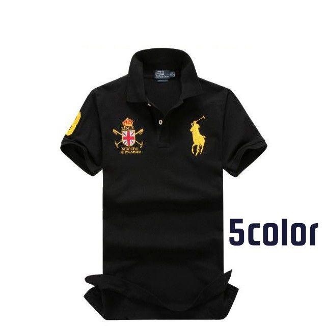 人気定番半袖 Polo Ralph Lauren ポロ ラルフローレン 人気 半袖Tシャツ 5COLOR 「PL-10」