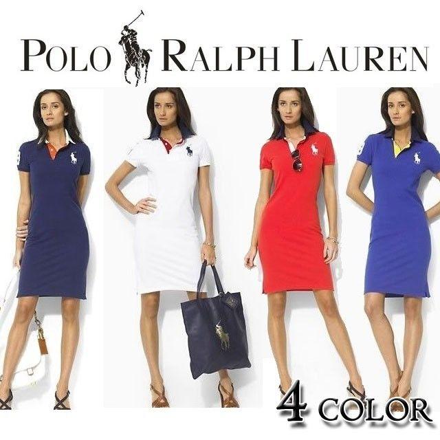 人気定番半袖 Polo Ralph Lauren ポロ ラルフローレン 人気 半袖 ワンピース[PL-21]