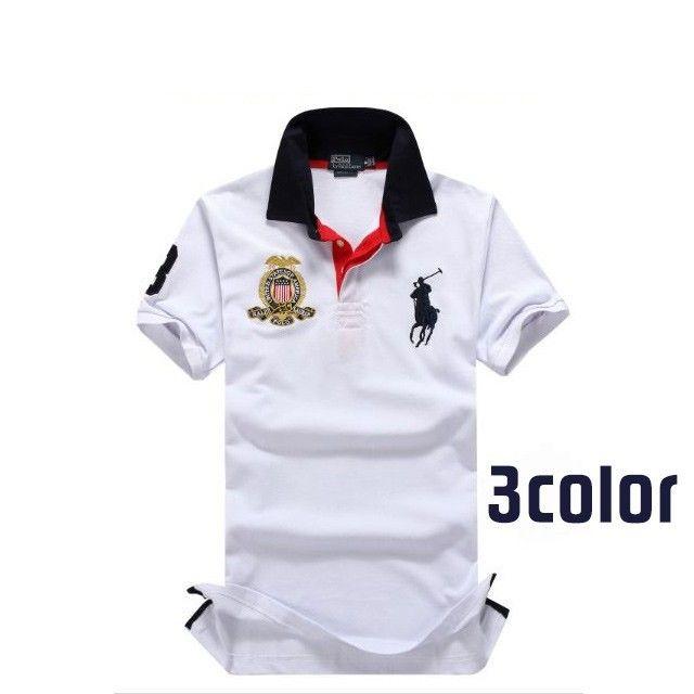 人気定番半袖 Polo Ralph Lauren ポロ ラルフローレン 人気 半袖Tシャツ 3COLOR 「PL-09」
