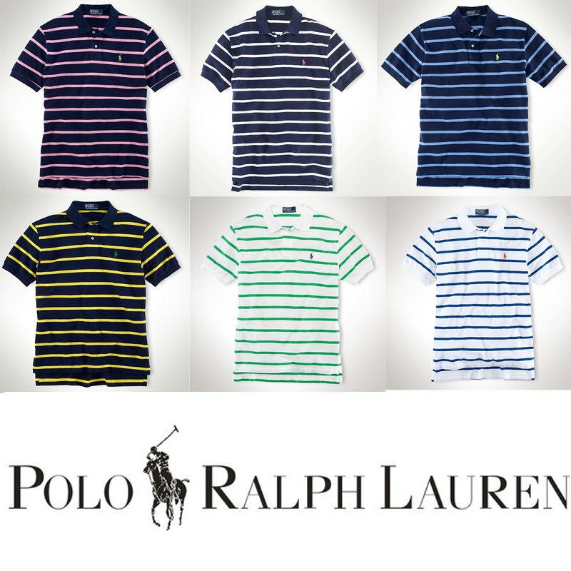 送料無料 人気定番半袖 Polo Ralph Lauren ポロ ラルフローレン 人気 半袖 Tシャツ メンズ レディース 6COLOR [PL-902-213]