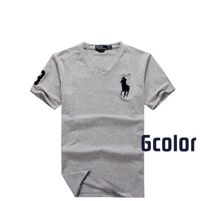 人気定番半袖 Polo Ralph Lauren ポロ ラルフローレン 人気 半袖Tシャツ 6COLOR 「PL-11」