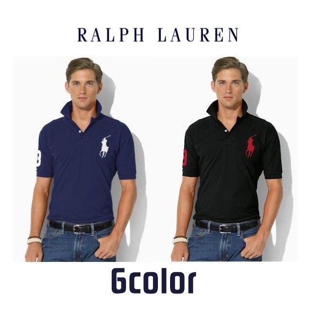 人気定番半袖 Polo Ralph Lauren ポロ ラルフローレン 人気 半袖Tシャツ 6COLOR 「PL-17」