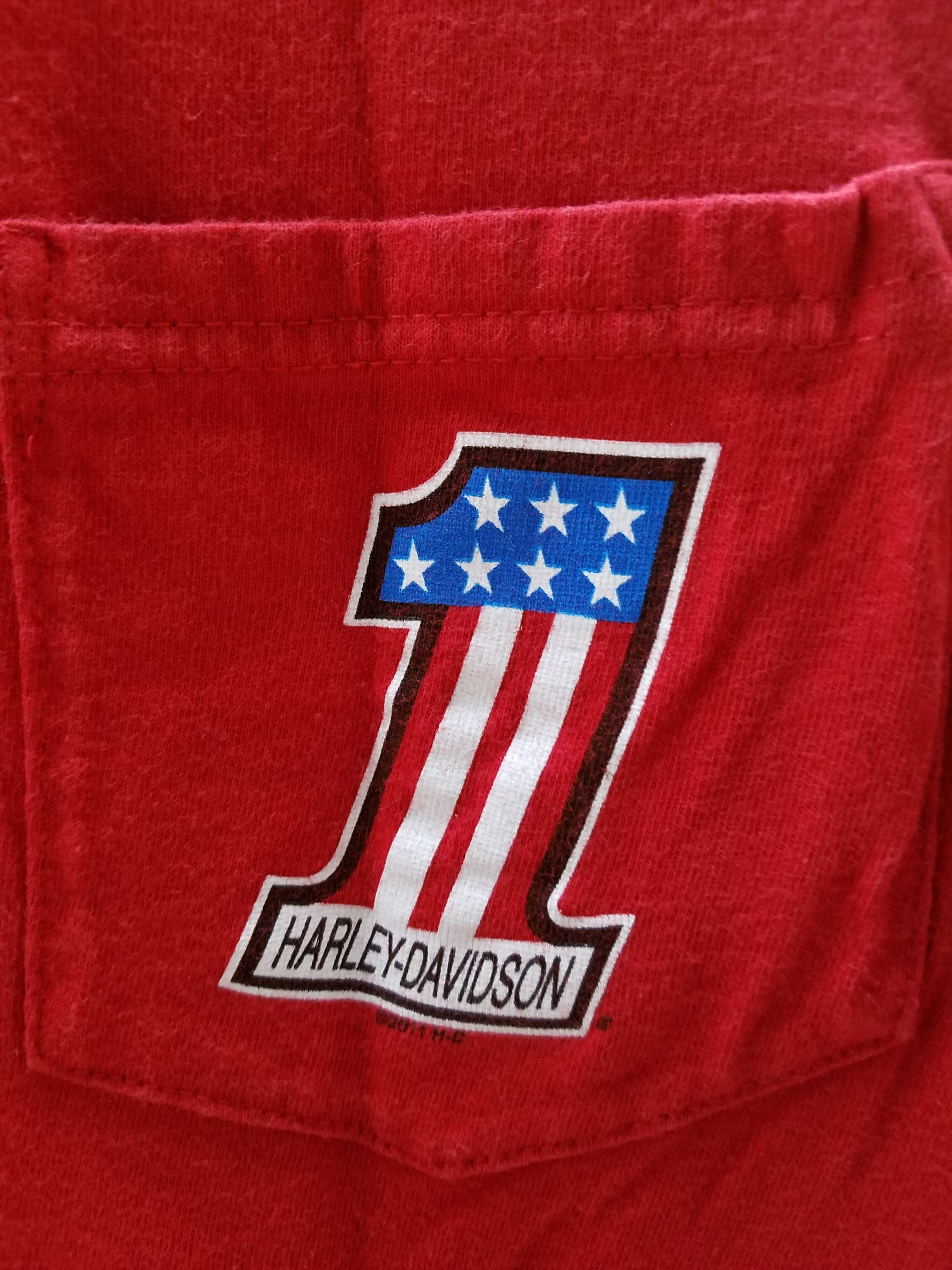 ハーレーダビットソン No1 Tシャツ