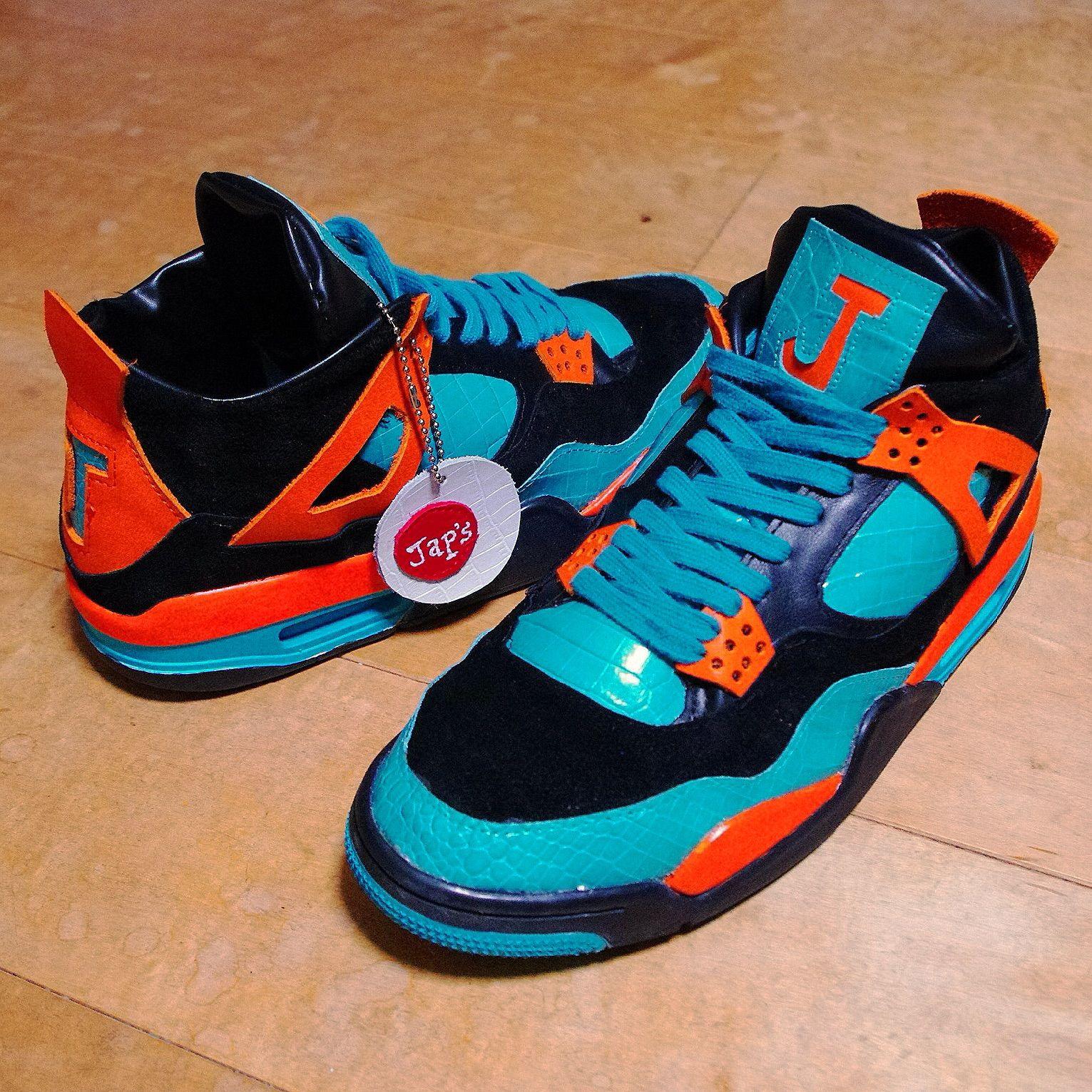 Nike Air Jordan 4 クロコカスタム 27cm 限定一足