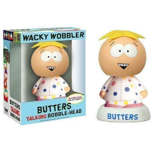 ファンコ ワッキーワブラー  Funko WACKY WOBBLER 2008年コミコン限定 サウスパーク バターズ in パジャマ