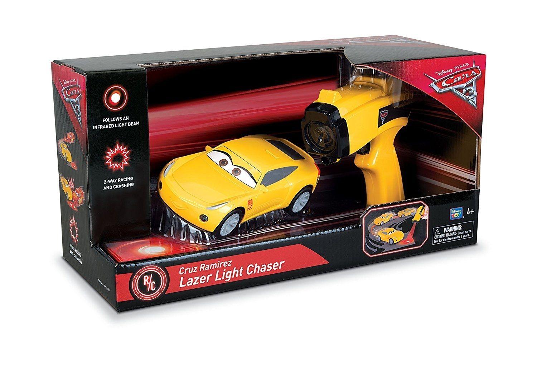 ディズニー・ピクサー カーズ  クロスロード ライト の光でコントロールするクルーズ・ラミレス ラジコンカー CARS3   Cruz Ramirez Laser Light Chasers