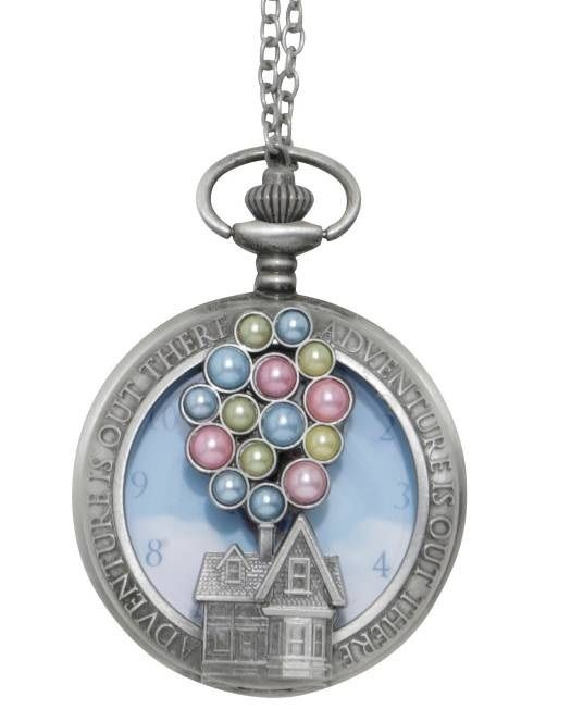 ディズニー ピクサー カールじいさんの空飛ぶ家   懐中時計ネックレス