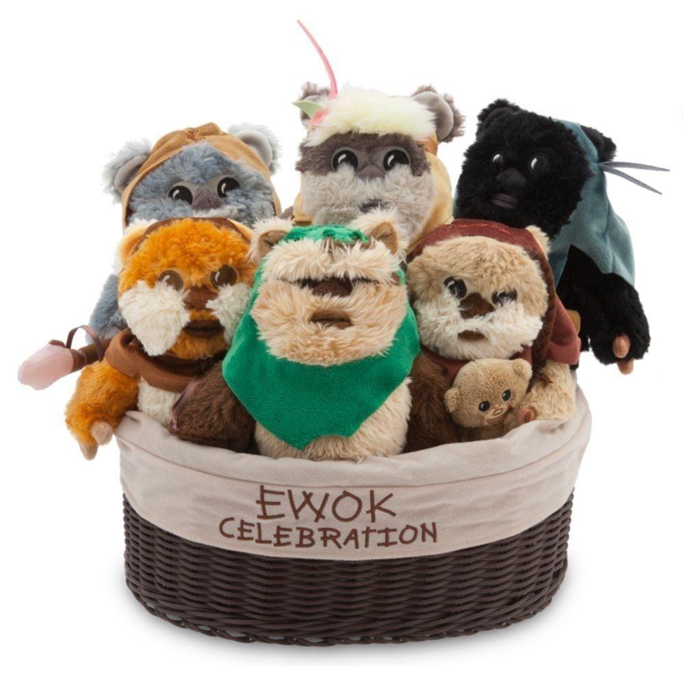 スターウォーズ イォーク セレブレーション ぬいぐるみセット STAR WARS Ewok Celebration Plush Set